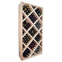 Sonoma Designer Wine Rack Kit - Diamond Bin With Face Trim