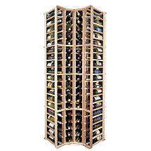 Sonoma Designer Wine Rack Kit - 4 Column Corner Rack w / o Display