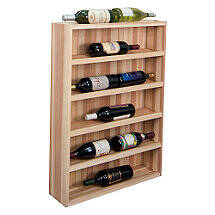 Sonoma Designer Wine Rack Kit - 10 Bottle Vertical Display Wine Cabinet