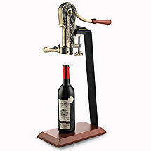 Legacy Corkscrew with Birch Stand (Antique Bronze)