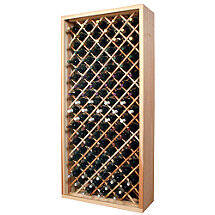 Sonoma Designer Wine Rack Kit - 90 Bottle Individual Diamond Bin
