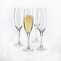 Fusion Classic Champagne Flutes (Set of 4)