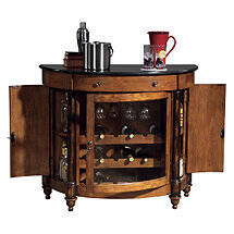 Howard Miller Merlot Valley Wine Console