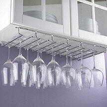 Large Under Cabinet Stemware Rack