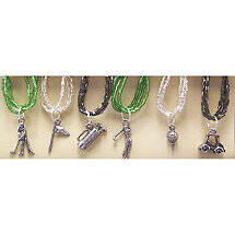 Golf Lover's Wine Glass Charms (Set of 6)