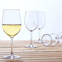 Indoor / Outdoor Chardonnay Wine Glasses (Set of 4)
