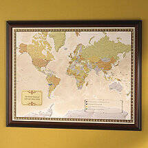 Personalized Wine Travel Map