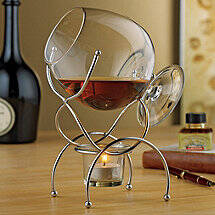 Brandy Warmer 4-Piece Gift Set