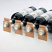 All-Heart Redwood Bottle Tags (Set of 100)