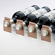 Wood Tone Bottle Tags (Set of 100)