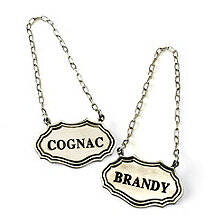 Decanter Tags (Cognac / Brandy)