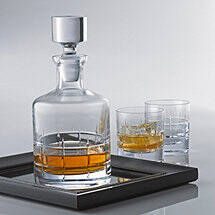 SoHo Whiskey Decanter & Glasses Set