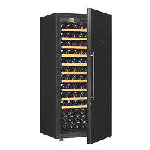 EuroCave Pure M Wine Cellar (Solid Door with Reflective Black Finish)