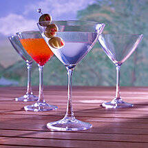 Indoor / Outdoor Martini Glasses (Set of 4)