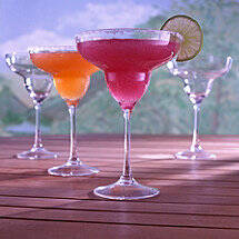 Indoor / Outdoor Margarita Glasses (Set of 4)