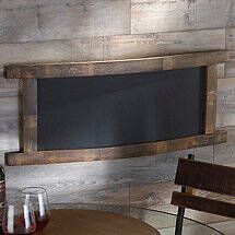 Reclaimed Barrel Stave Chalkboard (Rectangle)