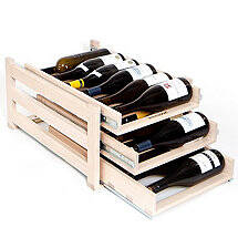 Wine Logic 18 Bottle In-Cabinet Wine Rack