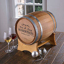 Personalized Wedding Barrel