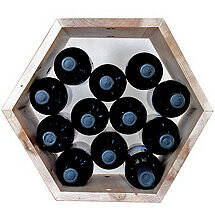 Honeycomb Modular Wine Rack (Maple)