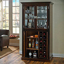 Firenze Wine and Spirits Armoire Bar