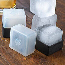 Oversized Ice Cube Molds (Set of 2)