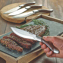 Monogrammed Legnoart Steak Knives (Set of 4)