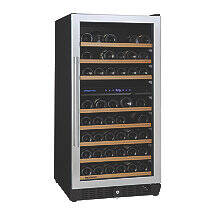 N'FINITY PRO M Dual Zone Wine Cellar (Stainless Steel Door)