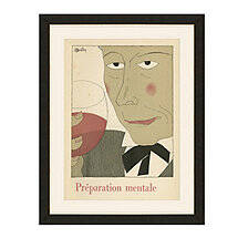 Preparation Mentale Vintage Advertising Print Reproduction (34 X 27)