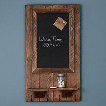 Magnetic Message Board with Hooks