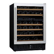 N'FINITY PRO S Dual Zone Wine Cellar (Stainless Steel Door)