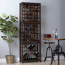 Industrial Chic Wine Rack
