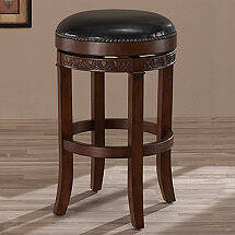 Portofino Swivel Backless Stool