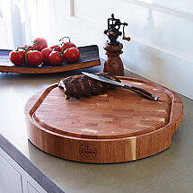 Cherry End Grain Carving Board