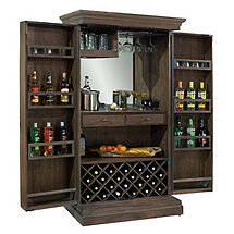Howard Miller Monaciano Wine and Spirits Armoire