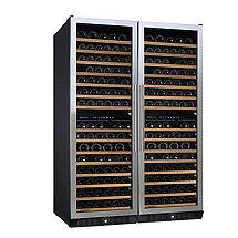 N'FINITY PRO Double L Wine Cellar (Stainless Steel Door)