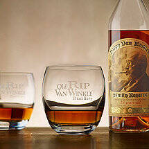 Old Rip Van Winkle Bourbon Glass Set