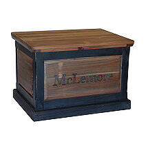 Personalized Pine Storage Trunk