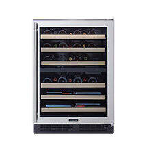 Wine Enthusiast SommSeries Dual Zone Wine Cellar (Stainless Steel)