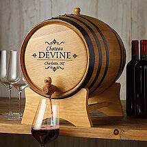 20 Liter Barrel Beverage Dispenser (Personalized)