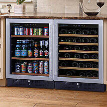 N'FINITY PRO S Beverage Station (Stainless Steel Door)