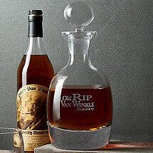 Old Rip Van Winkle Bourbon Decanter