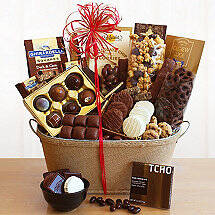 Chocolicious Sampler Gift Basket