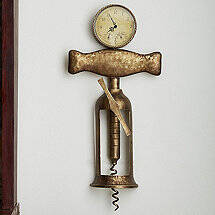 Antique Corkscrew Clock