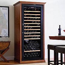 XL Custom Wine Cellar Cabinet