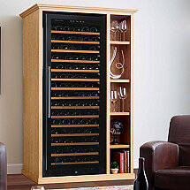 Custom Wine Cellar Cabinet With N'FINITY PRO L RED Wine Cellar