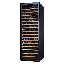 N'FINITY PRO Li RED Wine Cellar Full Glass Door (Left Hinge)