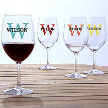 Personalized Indoor / Outdoor Wine Glasses