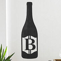 Personalized Wine Bottle Sign (3 Feet High)