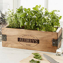 Personalized Herb Garden