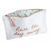 'Rosé The Day Away' Pouch